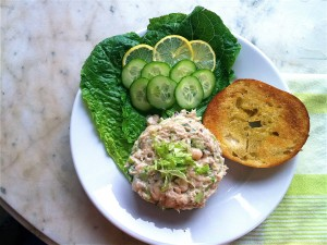 White Bean Recipe - Tuna Salad