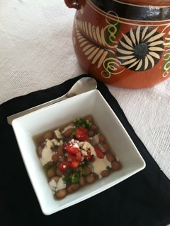 Frijoles Bandera with Pinto Beans