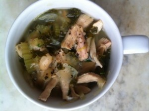 Soup with Kale and White Beans
