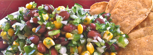 Corn and Pinto Bean Salsa