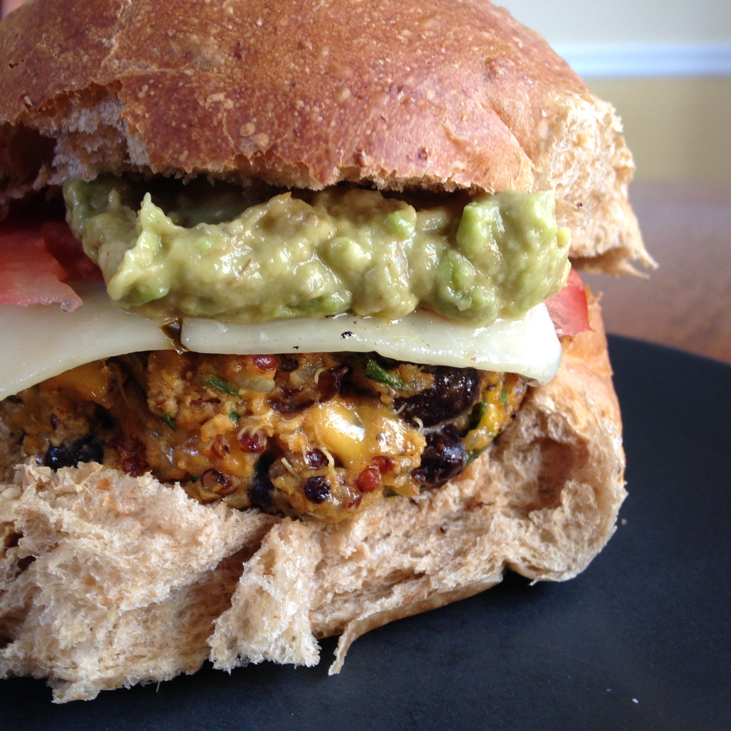 Black Bean And Pepper Jack Burgers Recipes — Dishmaps