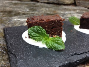 Randall's Black Bean Brownies