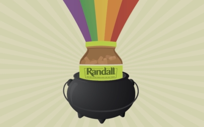 St. Patrick's Day Crafts with Randall Beans Jars