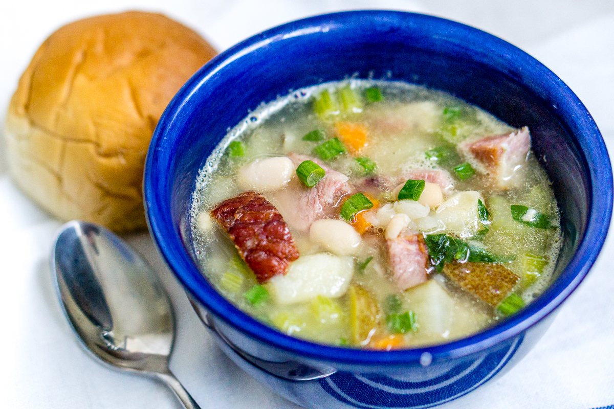 Smoked Ham and Bean Soup