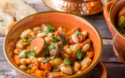 Sausage & White Bean Cassoulet