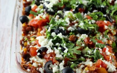 Mexican Casserole With Pinto Beans