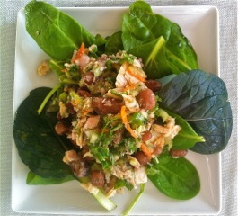 Tuna and Pinto Bean Salad