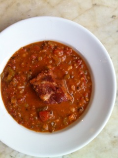 Pork and Bean Soup