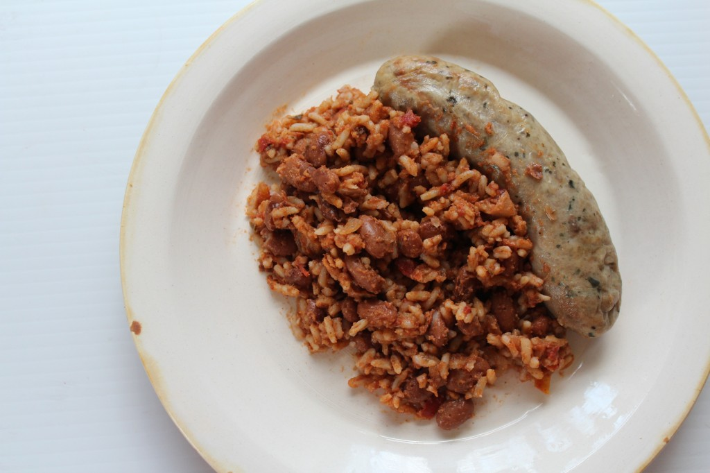 Southwestern Beans and Sausage