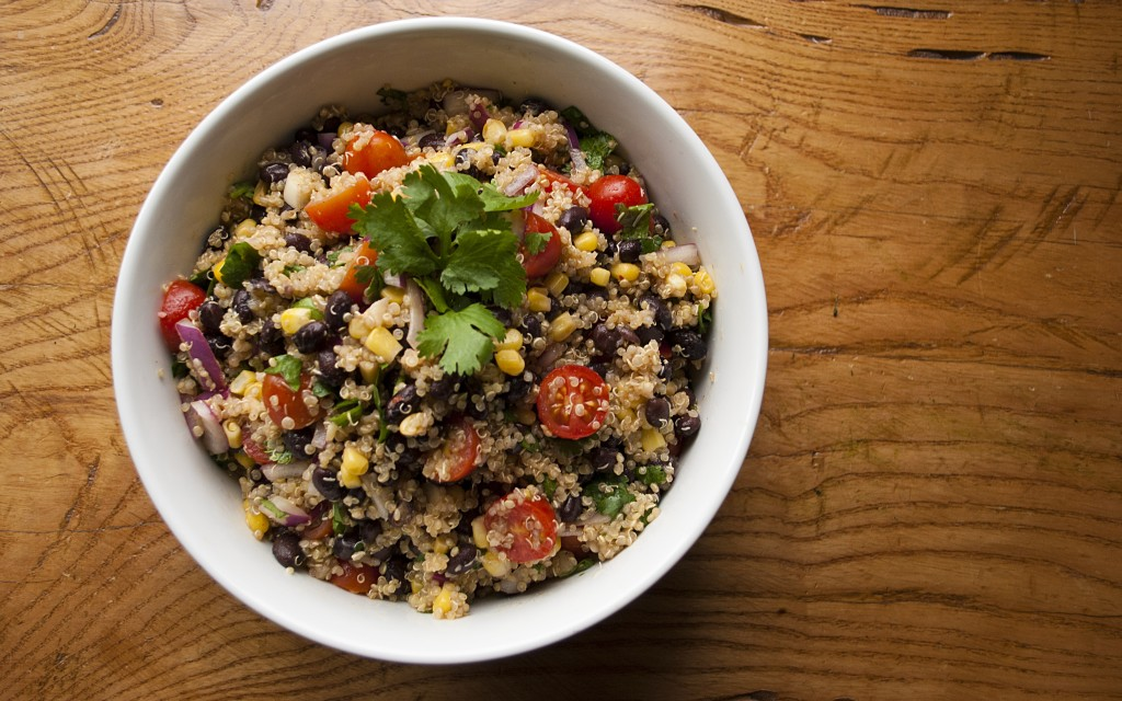 Southwest Black Bean Quinoa