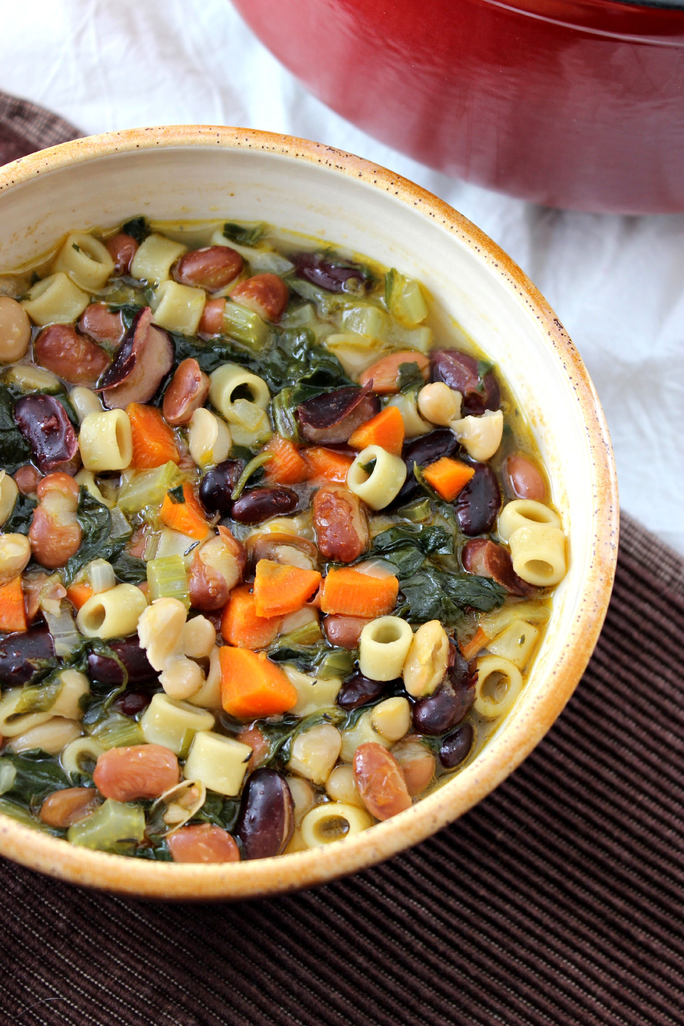 Three Bean Minestrone