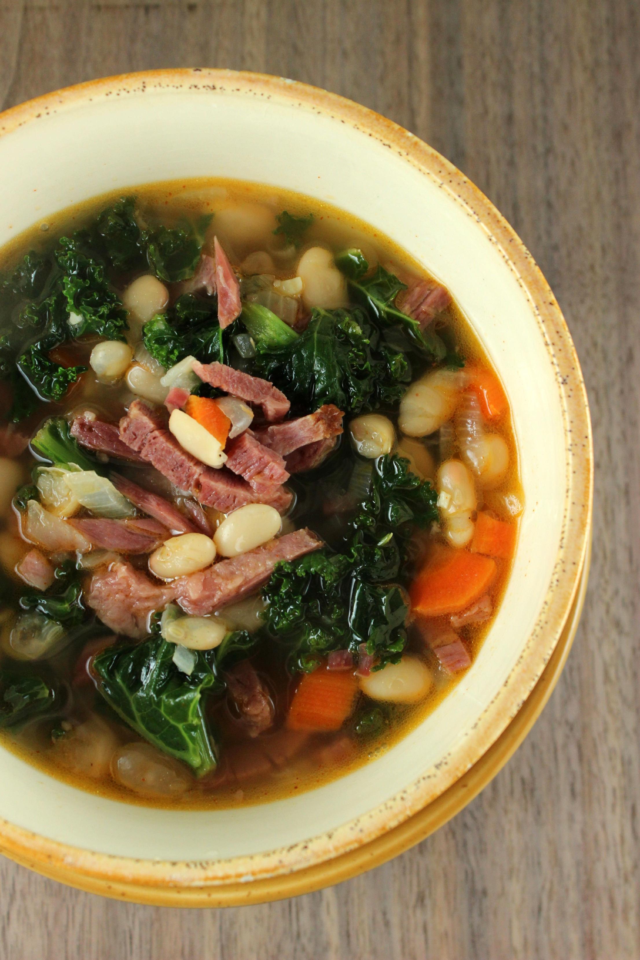 Corned Beef and Bean Soup
