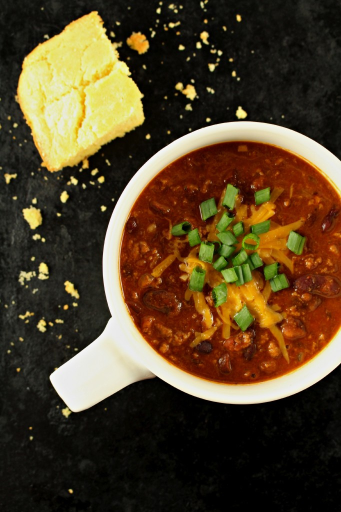 Dark Red Kidney Bean Chili