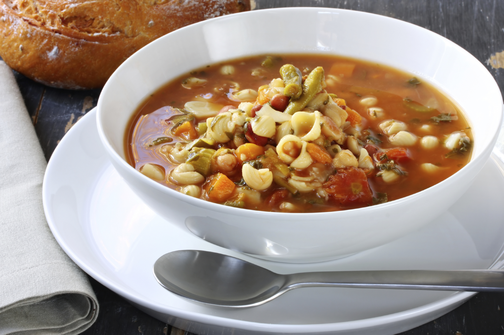Mixed Bean Minestrone
