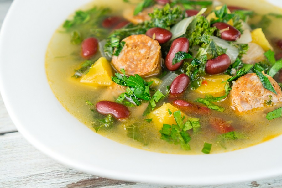 1000-pix-sausage-kidney-bean-soup-3-small