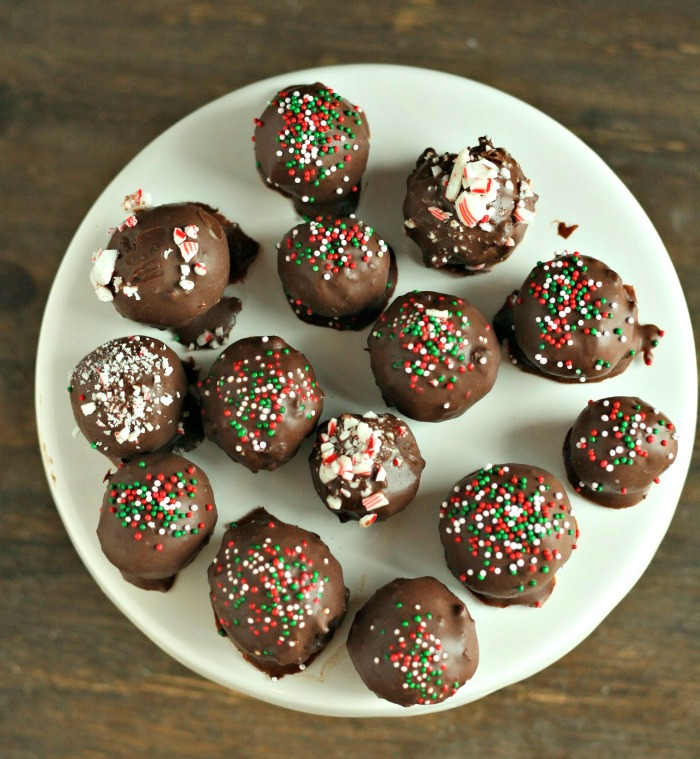 Black Bean Holiday Truffle Bites