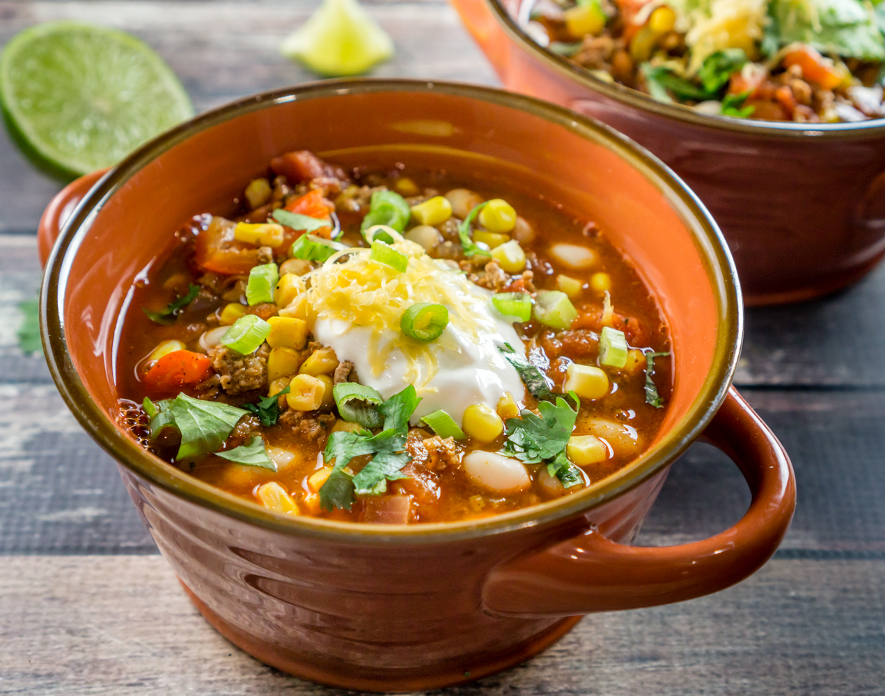 Southwestern White Bean Chili