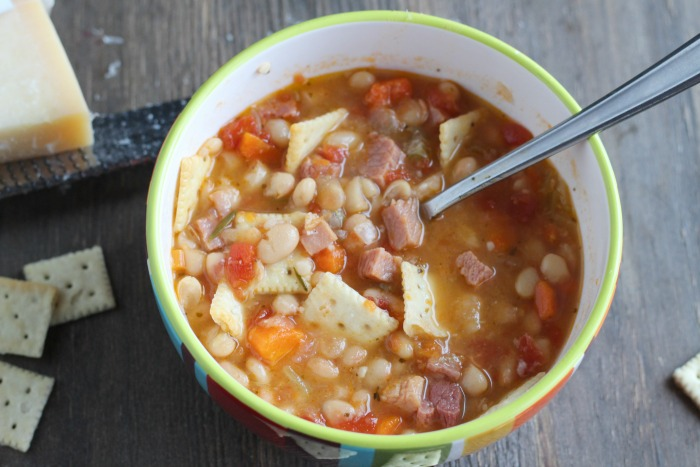 Virginia Ham and Bean Chowder