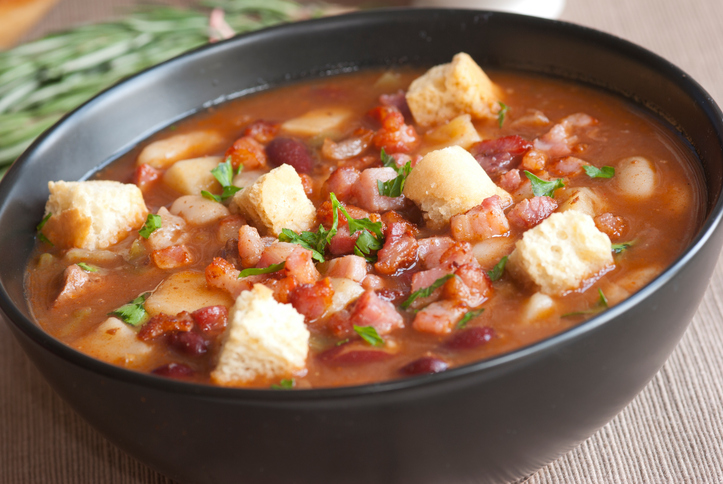Pork and Green Chili Pinto Bean Stew