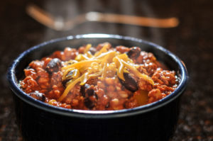 is chili with or without beans the right way?