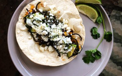 Sweet Heat Vegetarian Tacos