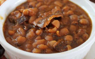"""Vermont Style"" Maple Syrup Baked Beans"