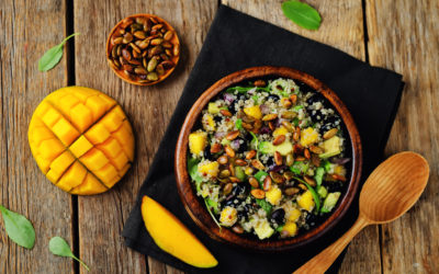 Black Bean, Corn and Quinoa Salad
