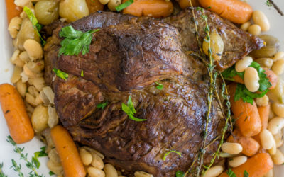 Pot Roast with White Beans