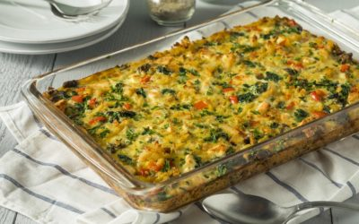 Anytime Vegetable and White Bean Italian Bean Casserole