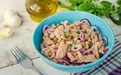 Zesty Tuna Salad with White Beans