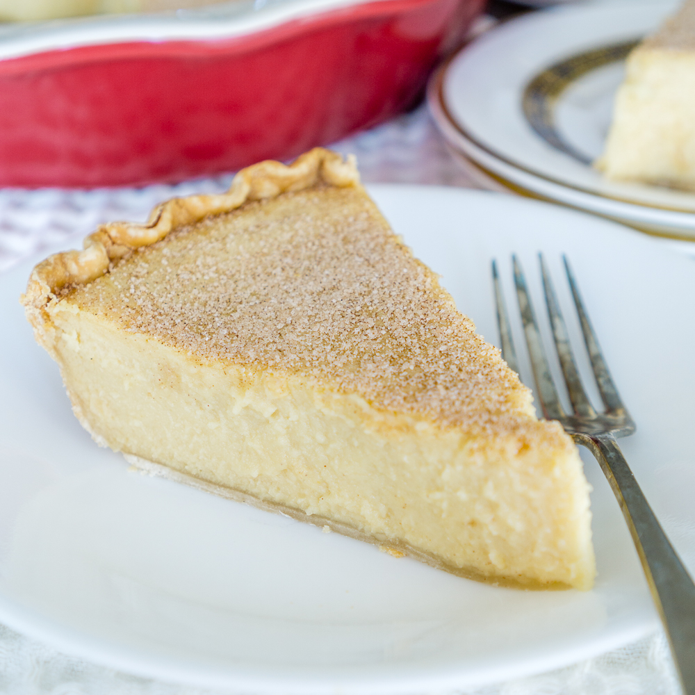 White Bean Sugar Cream Pie