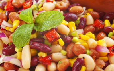 Fresh Farmer's Market Salad with Ultimate 4 Bean Mix