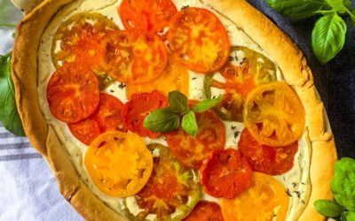 Heirloom Tomato Bean Pie