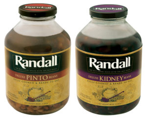 What is the difference between Randall Beans pinto beans and kidney beans?