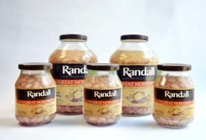 randall beans great northern bean sampler with two 48 oz. jars