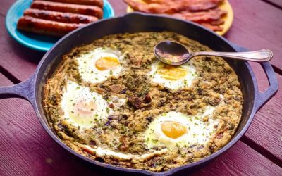 Irish Breakfast: White Bean Bubble & Squeak