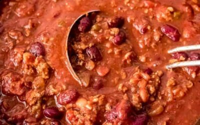 What's for Dinner?  How About Chili