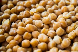 garbanzo beans and other beans are a great source of plant-based protein
