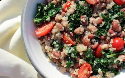 Mixed Bean and Quinoa Salad